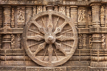 Chariot Wheel, Konark Sun Temp...