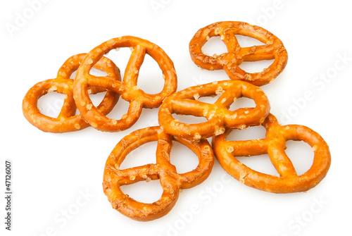 pretzel many Fototapeta