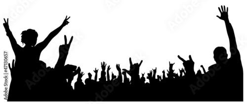 Concert Crowd #47130657
