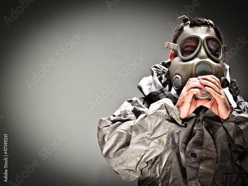 Gas Mask 1 Wallpaper Mural