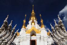 Thai Temple, Wat Tham Kuha Sawan, Ubon Ratchathani Province, Tha