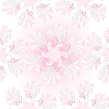 Centle Pink Seamless Pattern