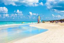 The Famous Beach Of Varadero I...