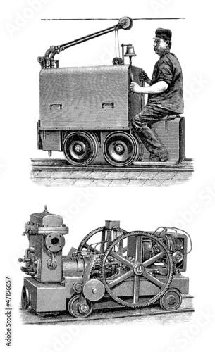 Minor & Mine Engines - 19th century