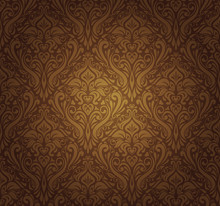 Dark Brown  Vintage Wallpaper ...