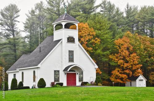 Papiers peints Edifice religieux White chapel