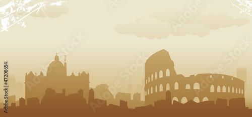 Obrazy Rzym  roma-panorame
