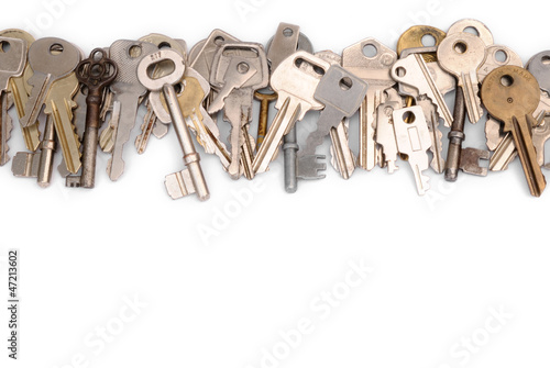 Fotografía  Close row of keys head