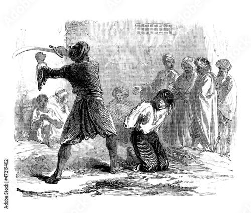 Valokuvatapetti Execution - Hinrichtung