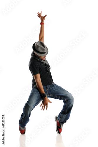 Fotografie, Obraz  HIp Hop Dancer performing