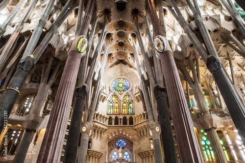 Inside La Sagrada Familia #47233281