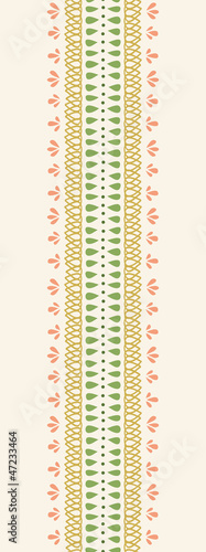 Photo  Vector Abstract Decor Stripes Vertical Seamless Pattern