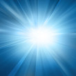 canvas print picture - Intense sun