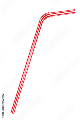 Carta da parati Drinking straw