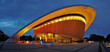 canvas print picture - Berlin Kongresshalle am Abend