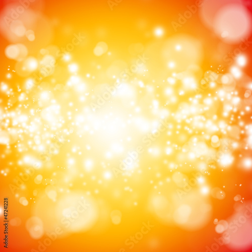 Fototapety, obrazy: Bokeh abstract bright background