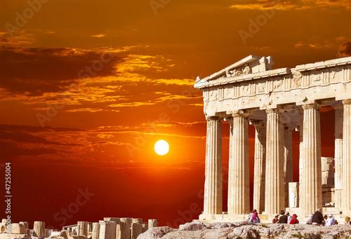 Fotografie, Obraz  Parthenon temple on the Athenian Acropolis, Greece