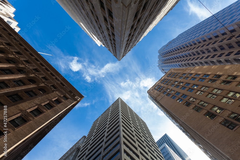 Fototapeta Quartiere Finanziario San Francisco