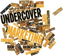 Word Cloud For Undercover Mark...