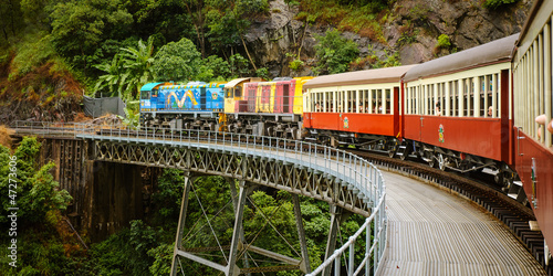 Kuranda Scenic Train, Queensland, Australia Wallpaper Mural