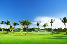 Irrigation Golf Course