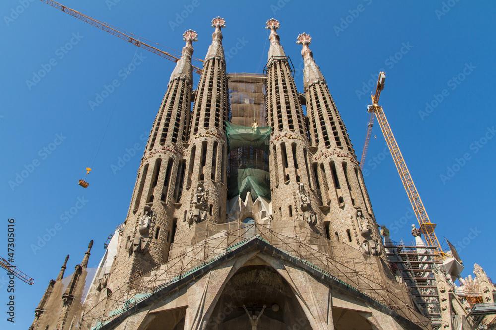 Fotografía Barcelona Spain June 25 Sagrada Familia On June 25