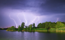 Lightning On The River