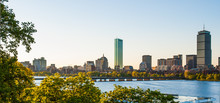 Back Bay And Charles River Afternoon