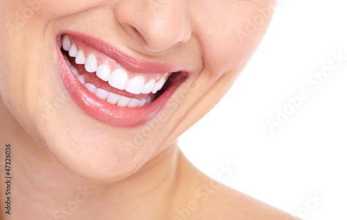Beautiful woman smile. #47326036