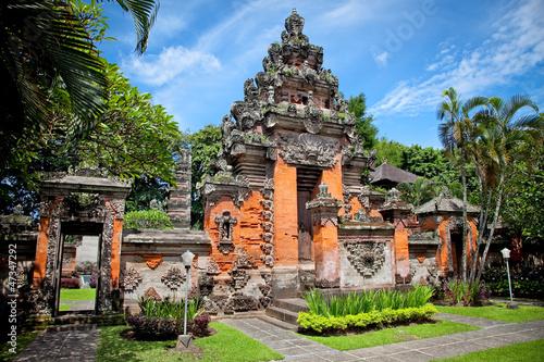 Aluminium Prints Indonesia Entrance gate of Negeri Propinsi Museum in Denpasar, Bali