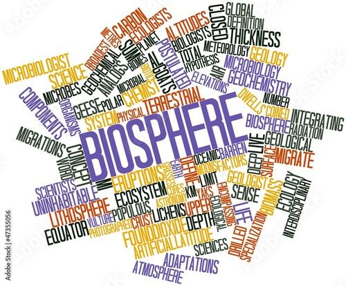 Word cloud for Biosphere