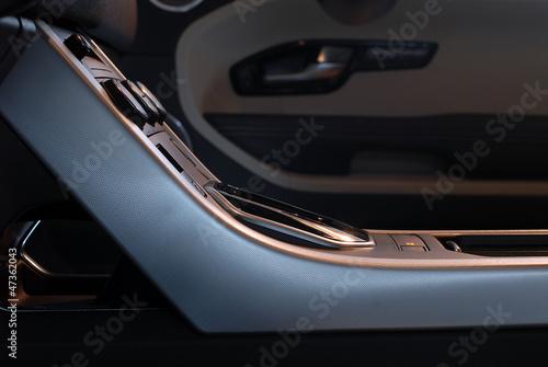 Fotografía car interior detail