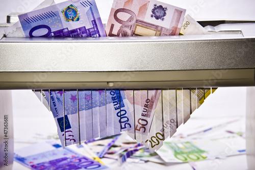 Valokuva  EURO / Banknoten und Münzen