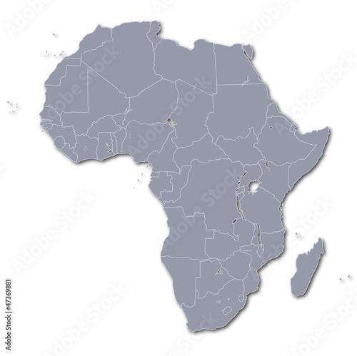 Karte Afrika.Karte Afrika Kontinent Buy This Stock Vector And Explore Similar