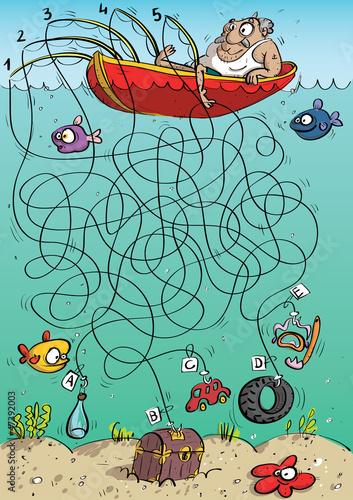 fisherman-maze-game