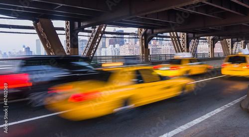 Foto auf AluDibond New York TAXI New York taxi