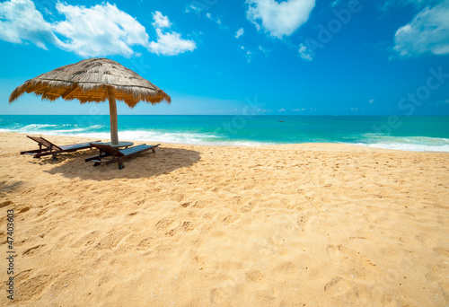 Fotoposter Strand Tropical beach