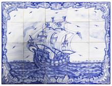 Ancient Portuguese Tiles With ...