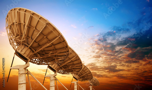 Photo  Satellite dish