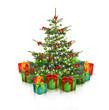 Geschenke unterm Weihnachtsbaum