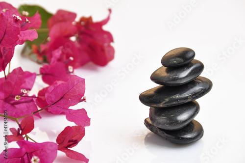 Photo sur Plexiglas Zen pierres a sable spa stones