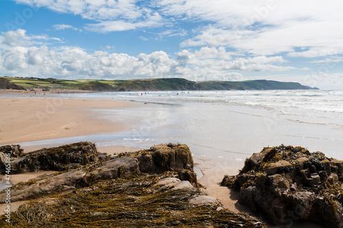 Fotomural Widemouth Bay Cornwall