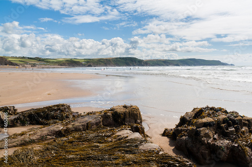 Photo Widemouth Bay Cornwall