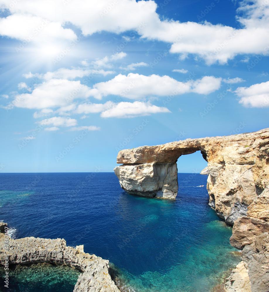 Fototapeta Wybrzeże Malty