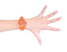 Hand Mit Farbiger Uhr