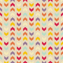 Vector Seamless Colorful Pattern Background Zigzag Chevron
