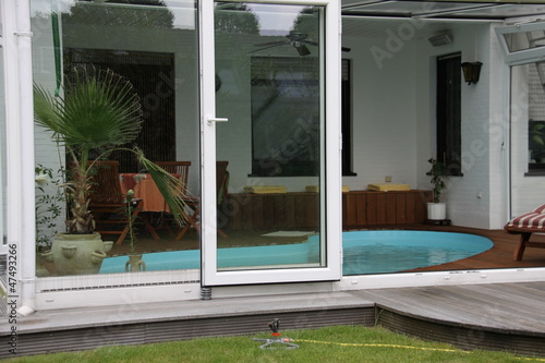 wintergarten mit pool, wintergarten mit pool - buy this stock photo and explore similar, Design ideen