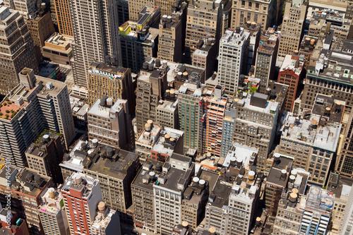 Foto op Plexiglas New York TAXI Buildings Background Texture New York