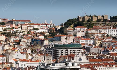 Beautiful view of Lisbon © inigocia