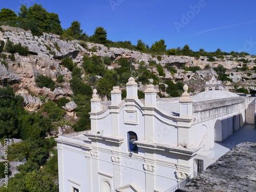 Photo  Santuario dello Madonna della scala in Massafra in Italy